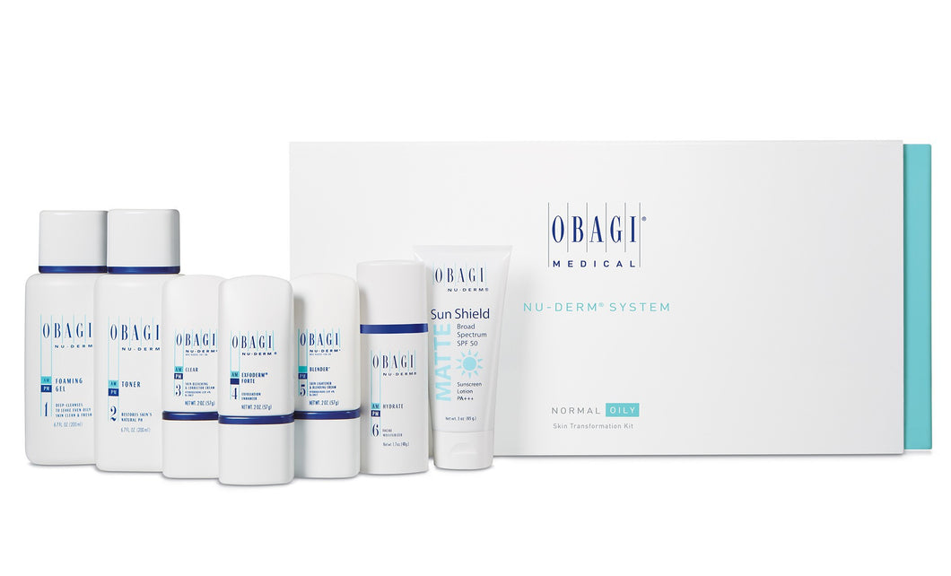 Obagi Nu-Derm Transformation Kit Norm- Oily