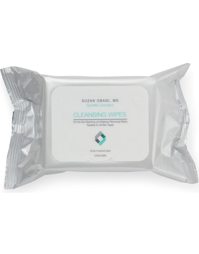 On the Go Cleansing and Makeup Removing Wipes 25's