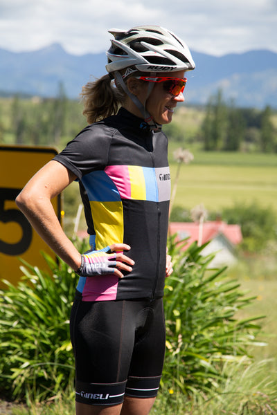 Women's Black Candy Jersey