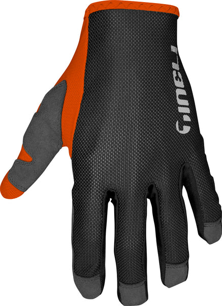 Mesh Glove Full Orange L
