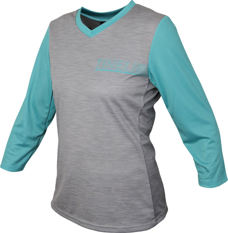WMN Turquoise 3/4 Trail Jersey