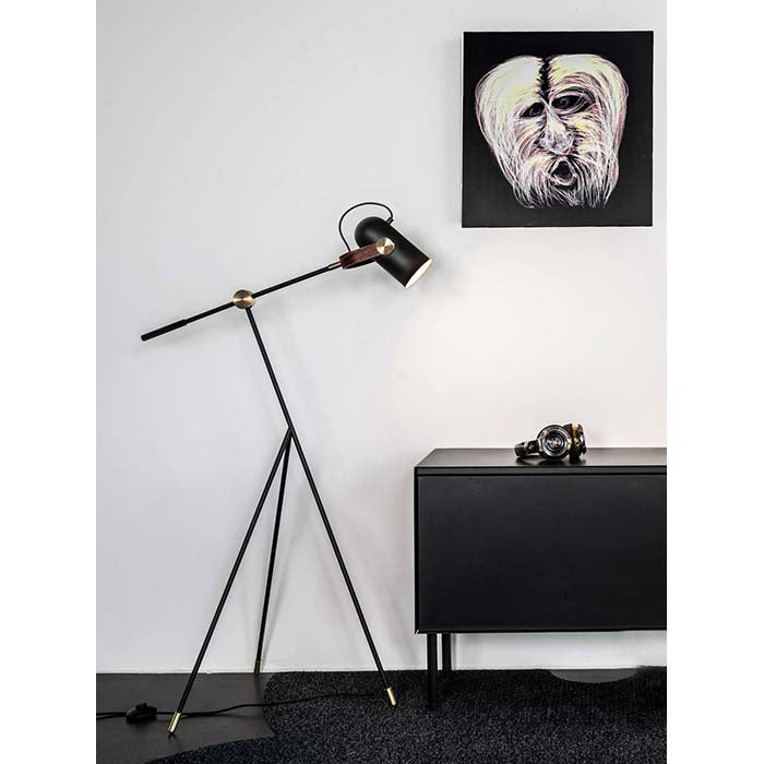 Carronade Floor Lamp Low by LE KLINT