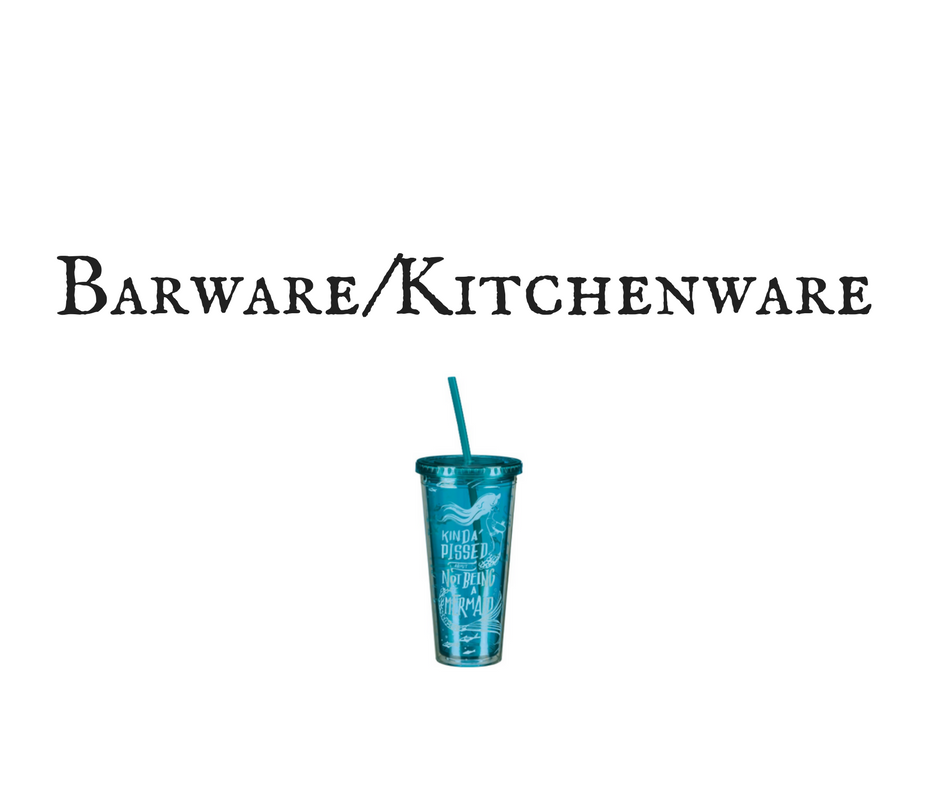 Barware/Kitchenware
