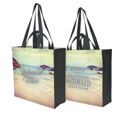 Mermaid Vibes Tote - mermaidinspiration