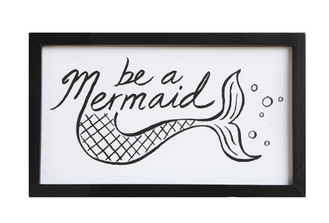 Be a Mermaid Wall Decor - mermaidinspiration