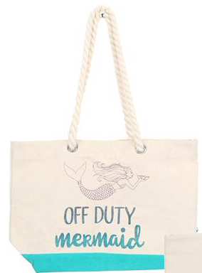 Mermaid Tote- Off Duty - mermaidinspiration