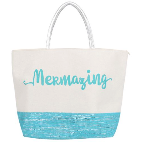Mermazing Glitter Tote - mermaidinspiration