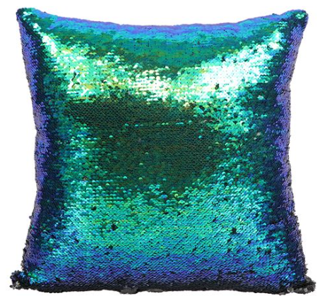 Sequin Pillow - mermaidinspiration
