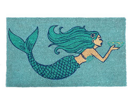 Mermaid Welcome Rug - mermaidinspiration