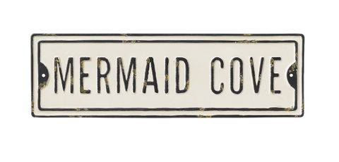 Mermaid Cove Street Sign - mermaidinspiration