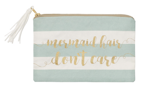 Mermaid Hair Cosmetic Bag - mermaidinspiration
