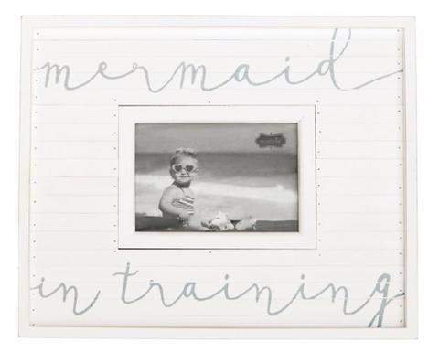 Mermaid in Training Frame - mermaidinspiration