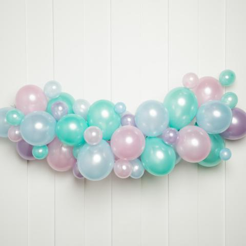 Unicorn Party Balloon Garland Kit