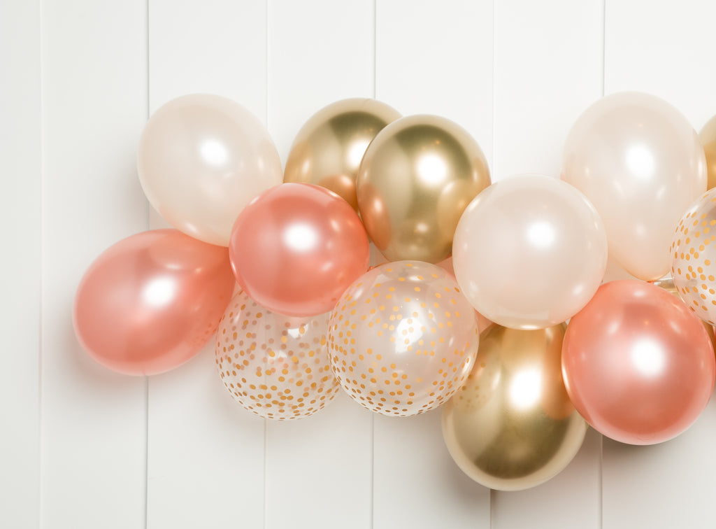 Rose Gold Balloon Garland Kit