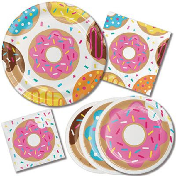 Donut Party Paper Set | Donut Party Supplies