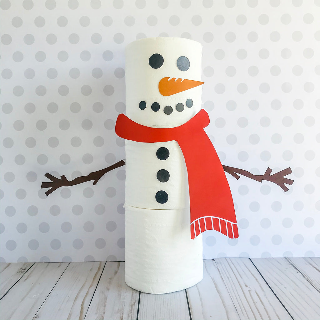 Christmas Elf Toilet Paper Snowman, Elf Printable, Instant Download