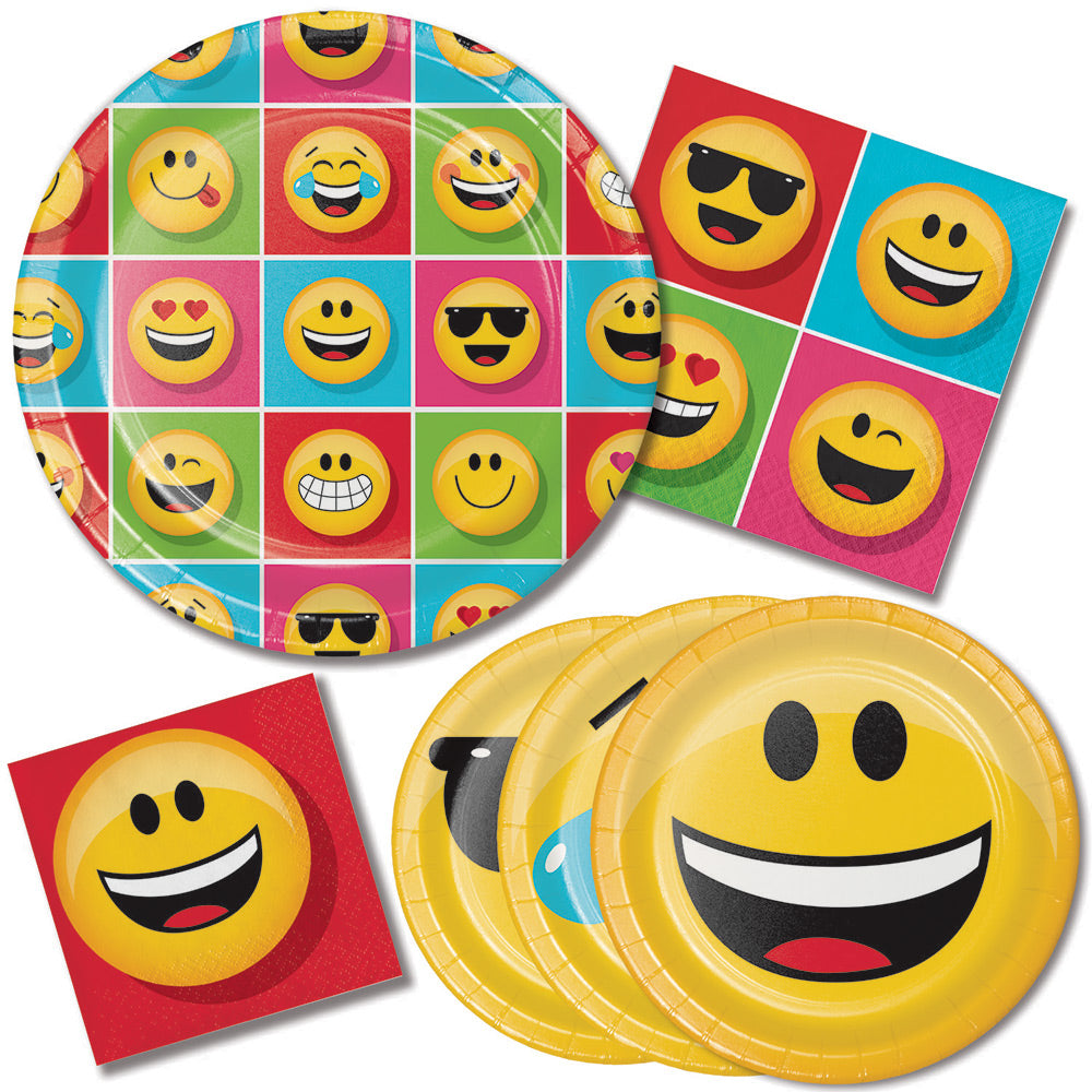 SHOW YOUR EMOJIONS PAPER DESSERT NAPKINS | 16 ct