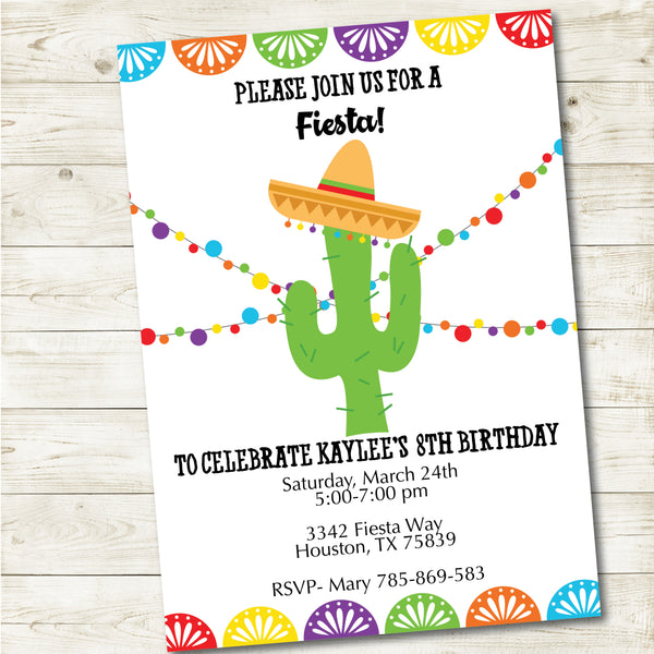 FIESTA PARTY INVITATION| FIESTA PARTY