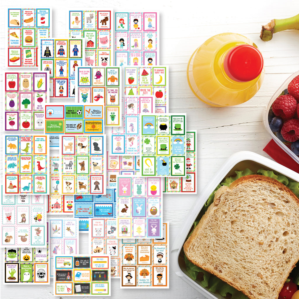 Lunch Box Cards Mega Bundle| Instant Download