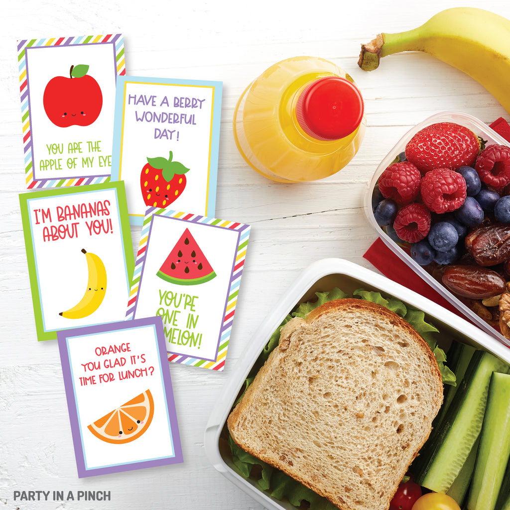 Fruit Lunch Box Notes| Instant Download
