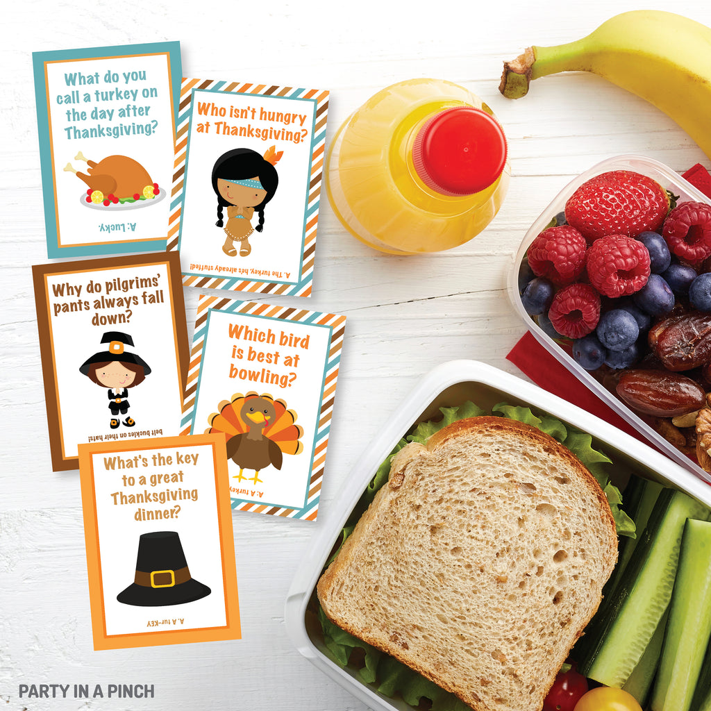 Thanksgiving Lunch Box Notes| Instant Download
