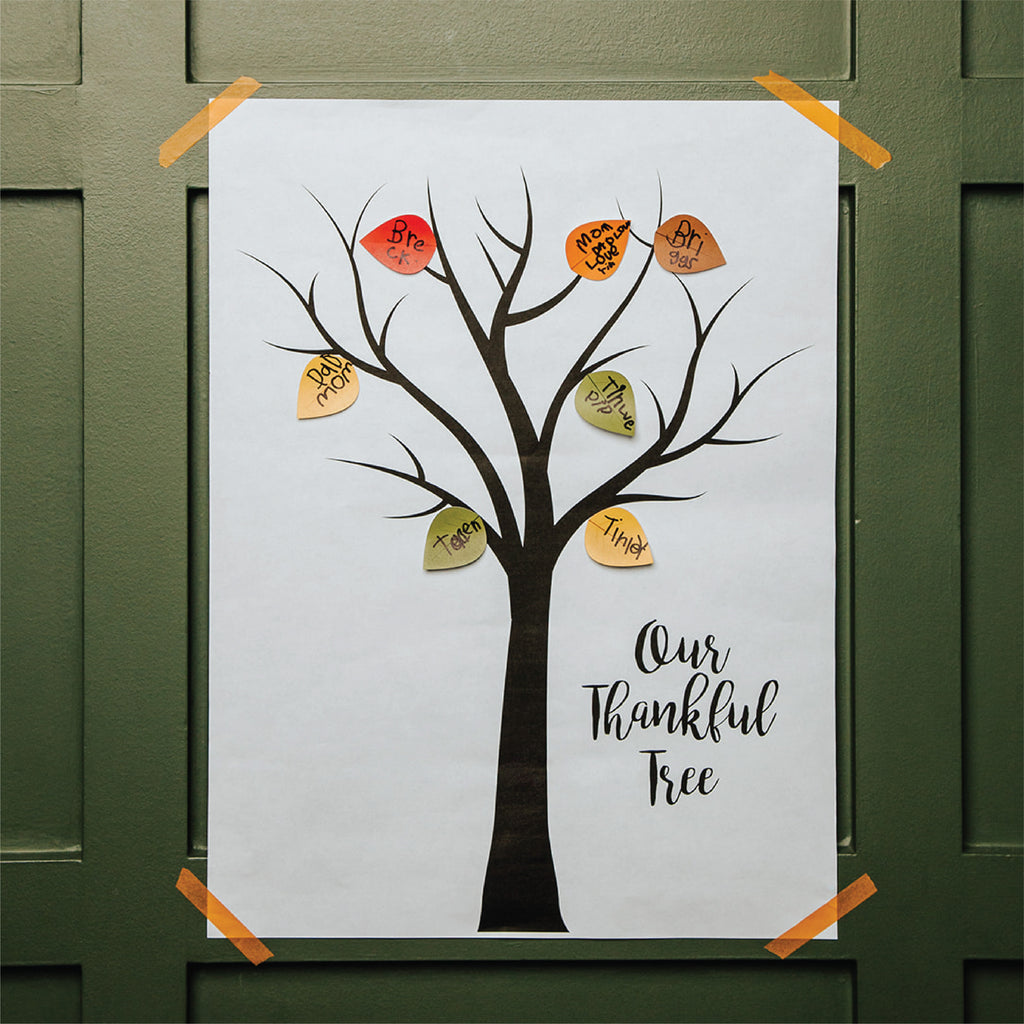 Thankful Tree Extra Stickers