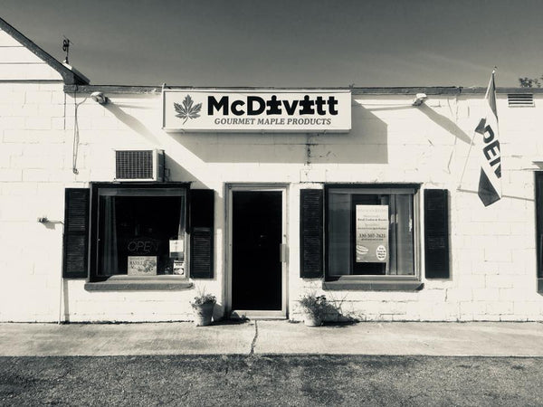 McDivitt Family Maple Retail Store and Kitchen in Southington, OH