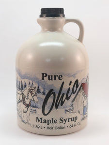 Ohio Maple Syrup - Half Gallon