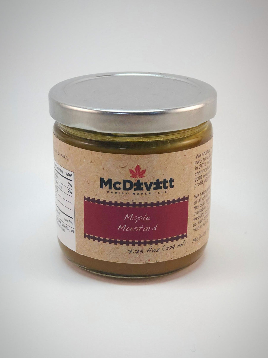 Maple Mustard - 7.75 fl. oz.