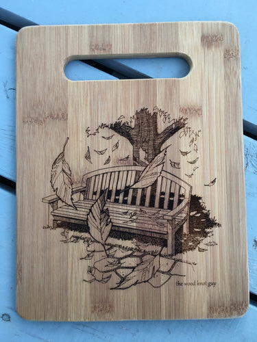 Bamboo Cutting Board - Design Your Own