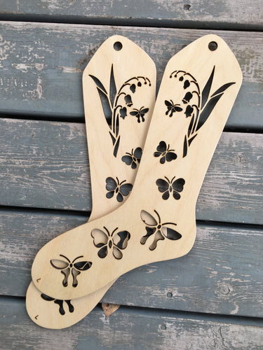 BUTTERFLIES!! Sock Blockers