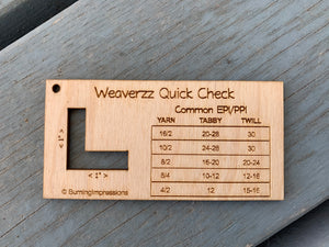 Weaverzz Quick Check