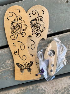 Roses 'n Butterflies Mitt Blockers