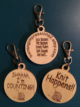 Knitter's Keytags / Zipper pulls