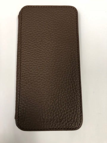 ADOPTED Genuine Leather Folio Wallet Case