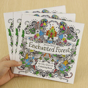 Enchanted Forest Coloring Book