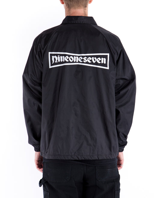 917 91 Stone Windbreaker Black