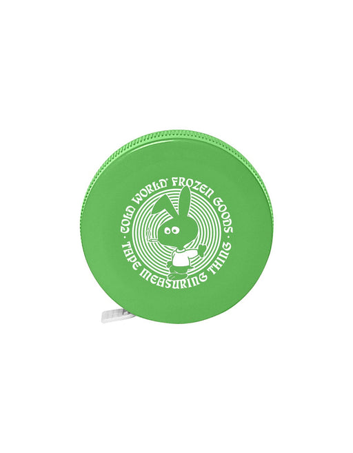 Cold World Cold Bunny Tape Measure Lime
