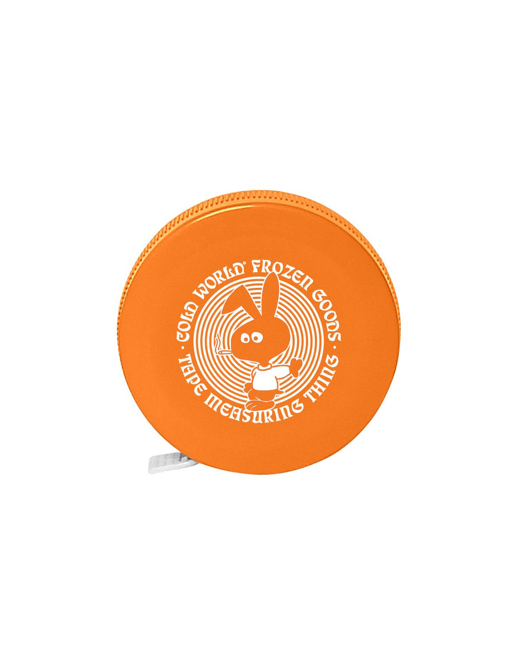Cold World Cold Bunny Tape Measure Orange