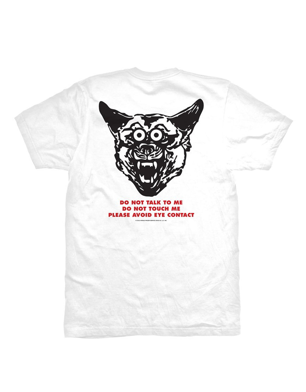 Cold World Service Industry Tee White