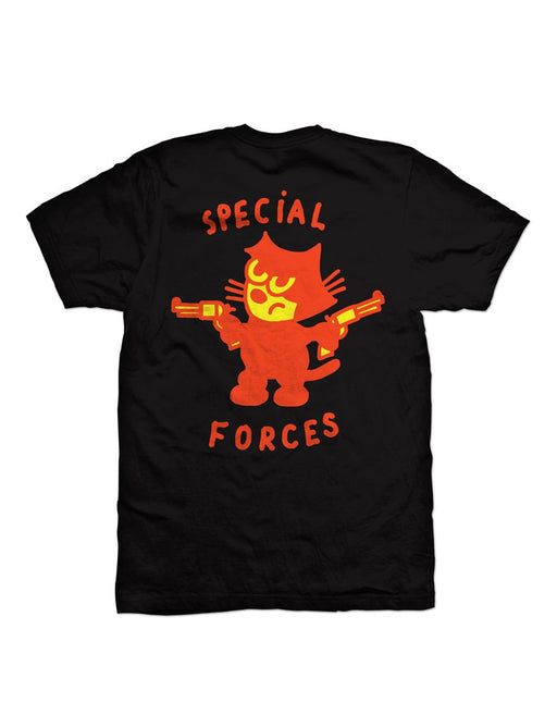 Cold World Special Forces Tee Black