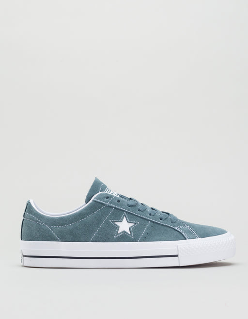Converse One Star Pro Ox Blue Green