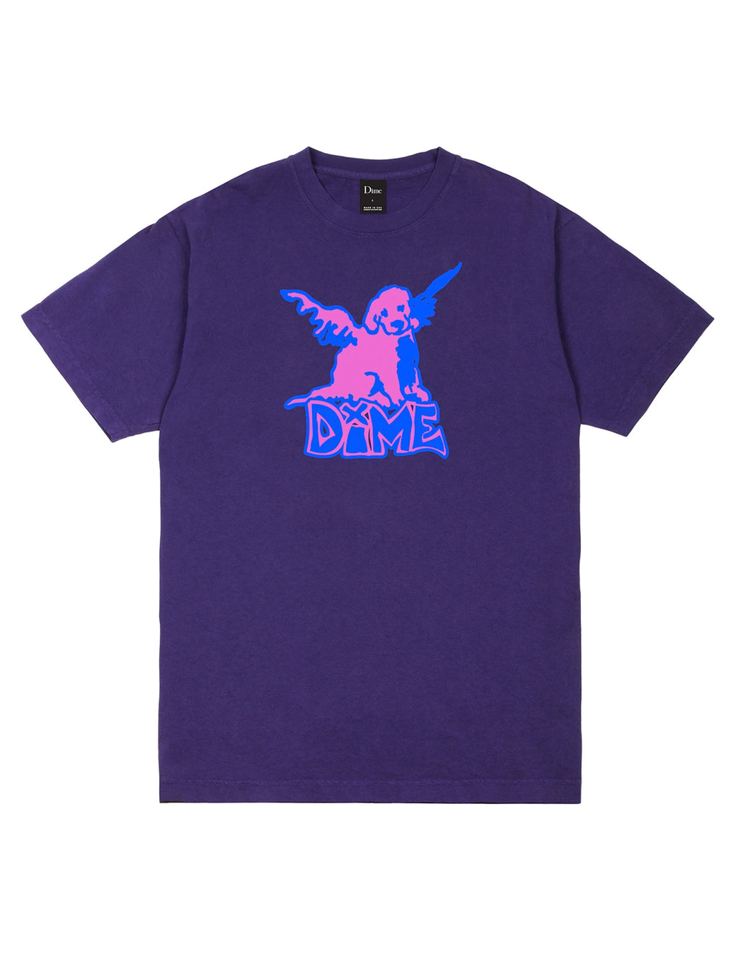 Dime Angel Tee, Purple