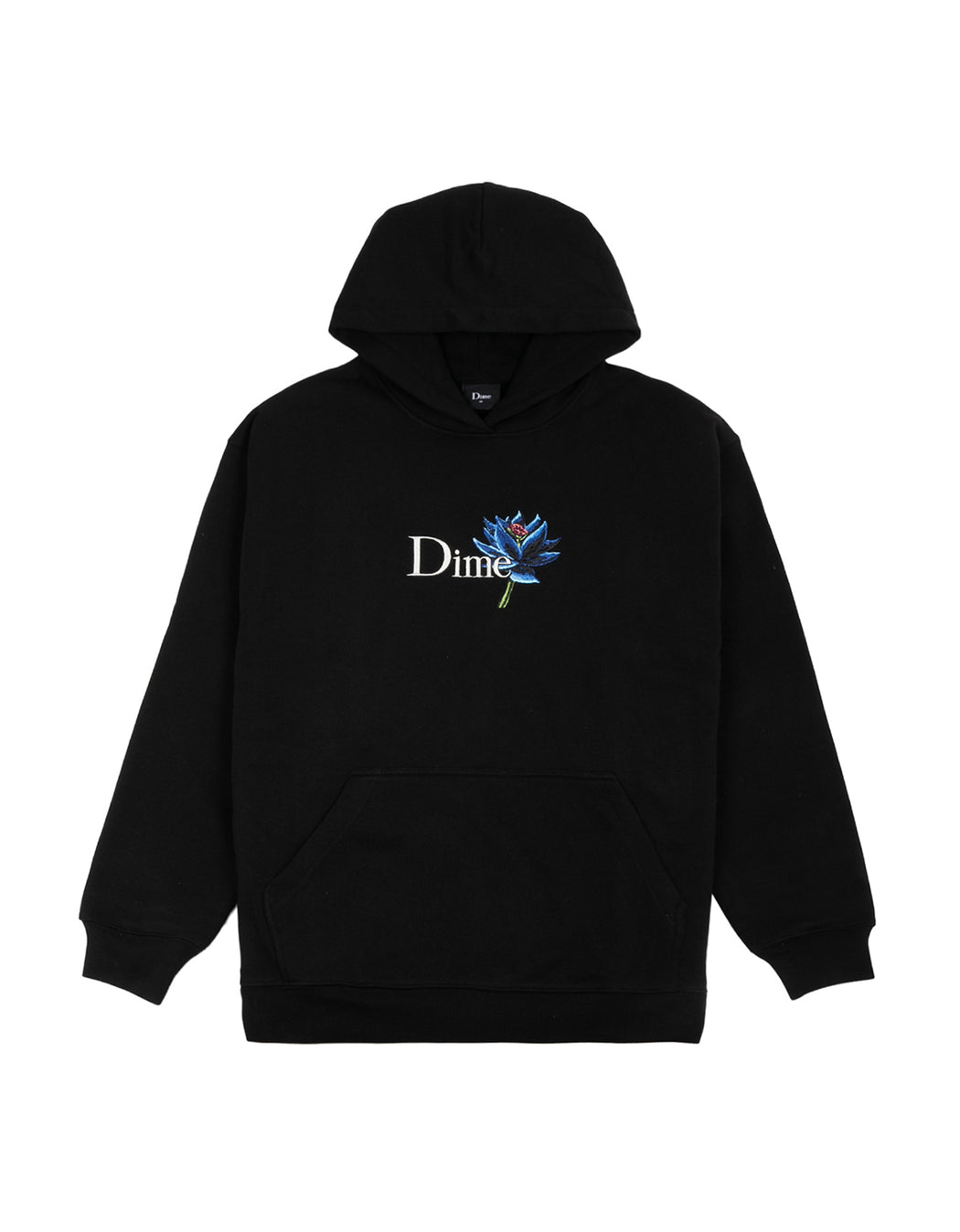Dime Black Lotus Hoodie in Black