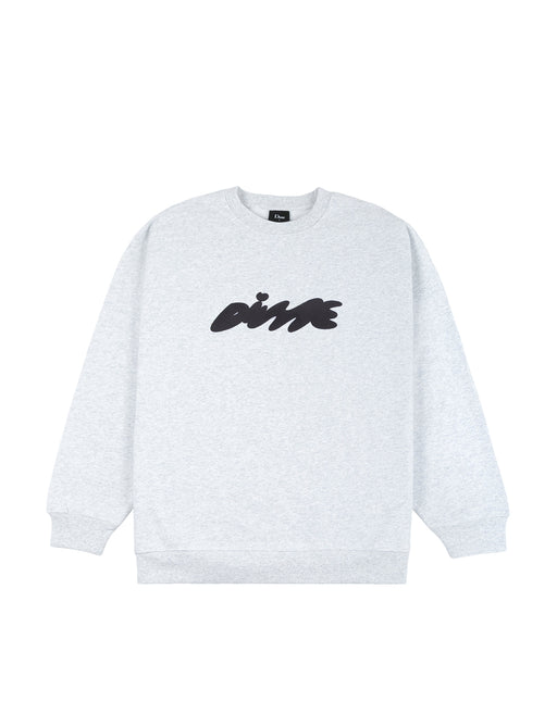 Dime Bubbly Crew Neck in Ash