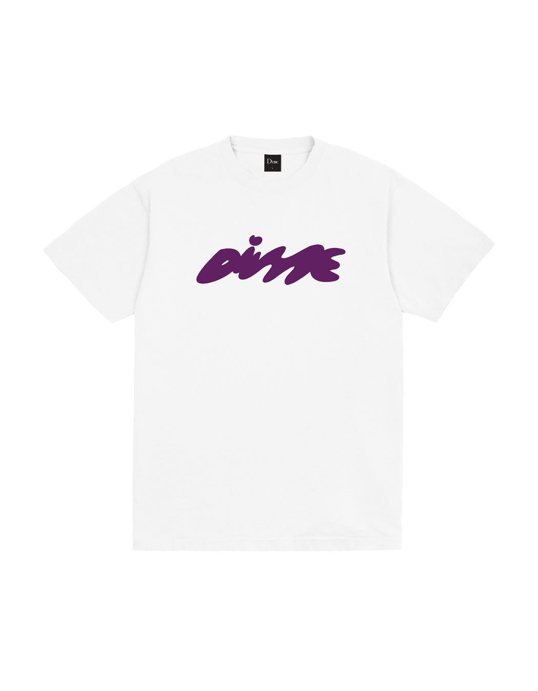 Dime Bubbly Tee in White