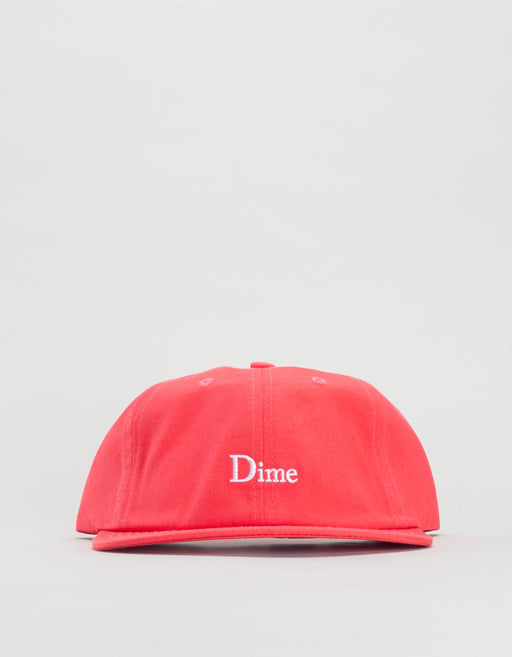 Dime Classic 6 Panel Hat Coral