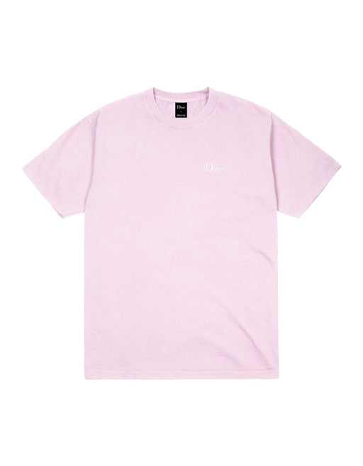Dime Classic Logo Embroidered Tee Light Pink