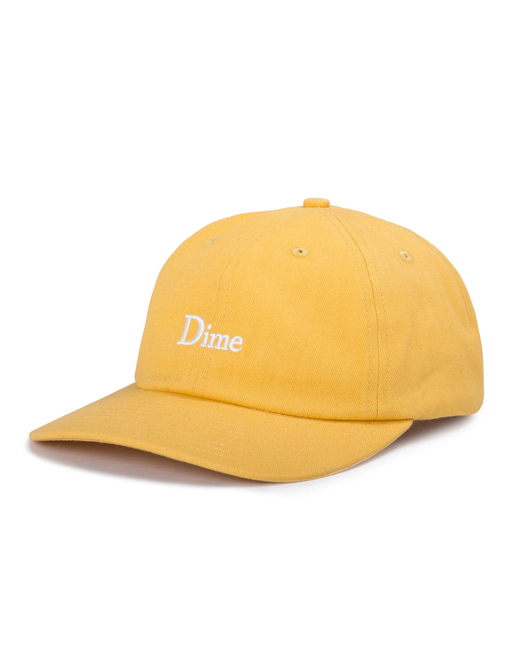 Dime Classic Logo Hat Yellow