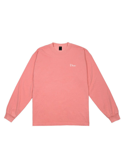 Dime Classic Logo L/S Tee Pink
